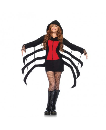 Costume Halloween -  Cozy Black Widow