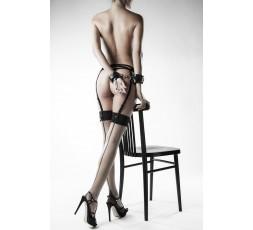 Sexy Shop Online I Trasgressivi - Sexy Lingerie - Set Intimo Fetish 4 Pezzi Strass - Grey Velvet