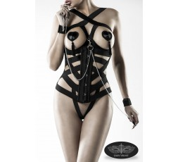Kit Intimo corsetto - Grey Velvet