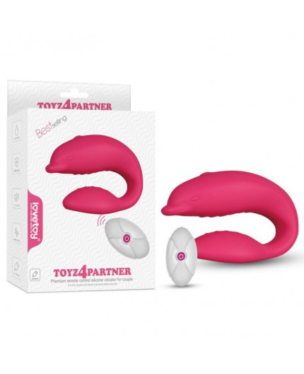 Sexy Shop Online I Trasgressivi - Sex Toy Coppia Design - Vibratore Toyz 4 Partner Ricaricabile - LoveToy