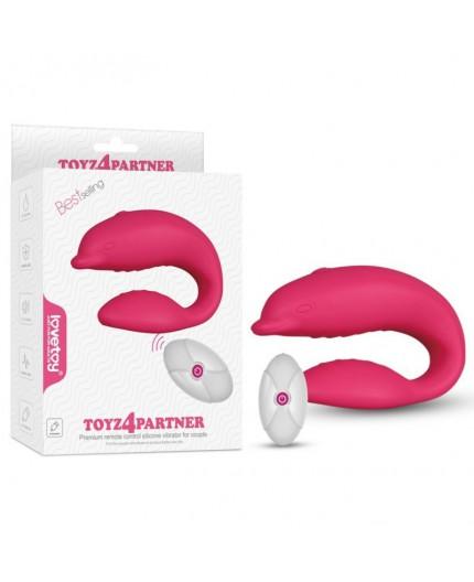 Vibratore Per Coppia Toyz4Partner Ricaricabile- LoveToy