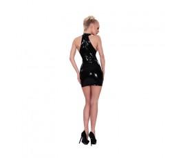 Sexy Shop Online I Trasgressivi Black Latex Mini Dress - Guilty Pleasure