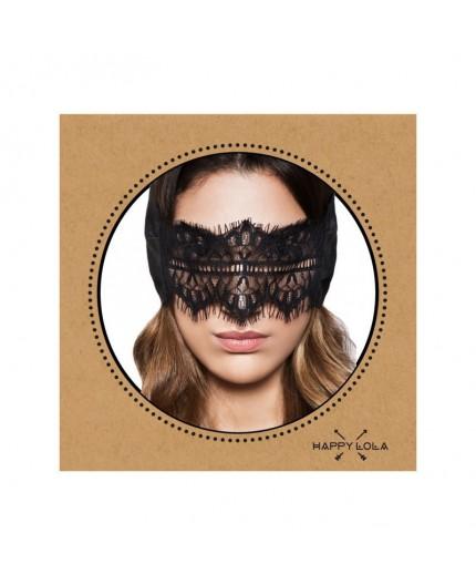 Sexy Shop Online I Trasgressivi - Maschera BDSM - Maschera Nera Happy Lola HL - Rimba