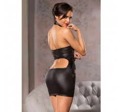 Sexy Shop Online I Trasgressivi - Abito Sexy - Abito Nero Elasticizzato Mini Dress Black - Allure