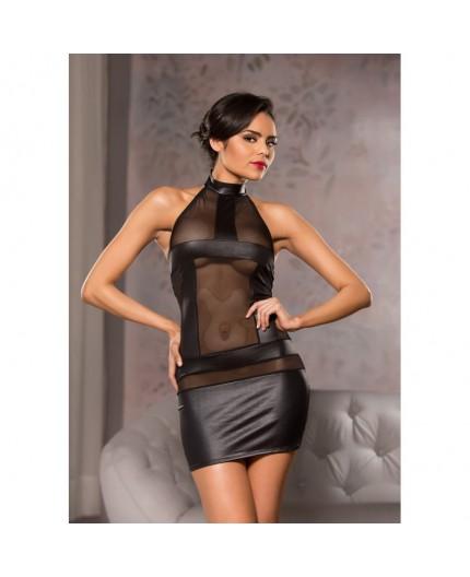 Sexy Shop Online I Trasgressivi - Abito Sexy - Abito Nero Elasticizzato Mini Dress Black - Allure