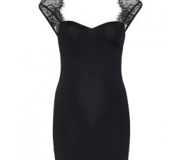 Sexy Shop Online I Trasgressivi - Abito Sexy - Mini Abito Nero Spandex Mini Dress - Leg Avenue