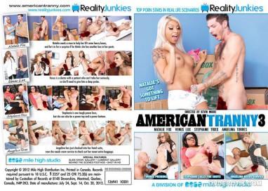 Dvd Trans - American Tranny 3 - Reality Junkies