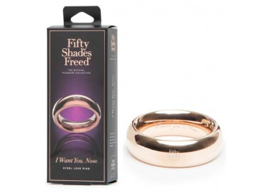 Anello Fallico - Steel Love Ring - Fifty Shades Of Grey
