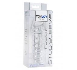 sexy shop online i trasgressivi Guaina Fallica Trasparente Power Stud Sleeve - Toy Joy