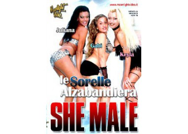 Dvd Trans - Le Sorelle Alzabandiera Shemale - Moonlight Video