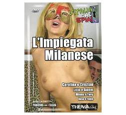 Dvd Etero L'Impiegata Milanese - Thema Film