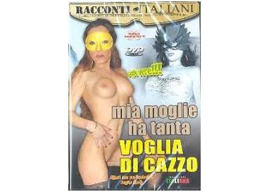 Dvd Etero - Mia Moglie Ha Tanta Voglia Di Cazzo - Racconti Italiani