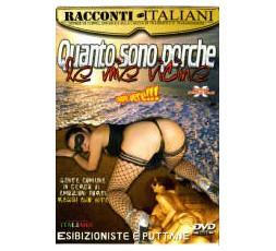 Sexy Shop Online I Trasgressivi - Dvd Etero - Quanto Sono Porche Le Mie Vicine - Racconti Italiani
