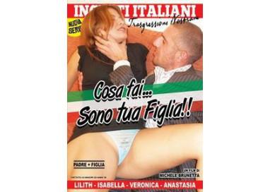Dvd Etero Cosa Fai ... Sono Tua Figlia - Incesti Italiani