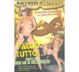 Sexy Shop Online I Trasgressivi - Dvd Etero - Faccio Tutto ... Basta Che Mi Si Riconosca! - Racconti Italiani