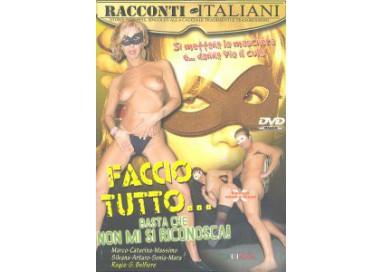 Dvd Etero - Faccio Tutto ... Basta Che Mi Si Riconosca! - Racconti Italiani