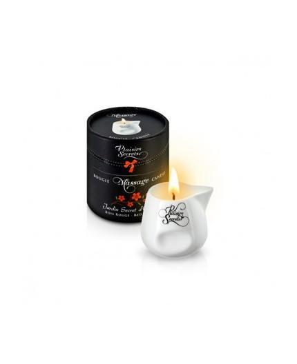 Sexy Shop Online I Trasgressivi - Candela Per Massaggi - Massage Candle Bois Rouge - Plaisirs Secrets