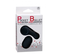 Sexy Shop Online I Trasgressivi - Ovulo Vibrante Wireless - Nero Romance Embraces Sex - Pocket Bullet
