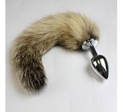 Sexy Shop Online I Trasgressivi - Plug Con Coda - Jewellery Striped Tail - Dolce Piccante