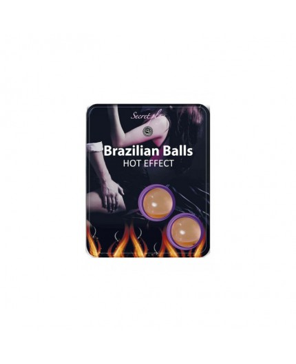 Palline Lubrificanti Effetto Caldo Brazilian Balls Hot Effect - Secret play