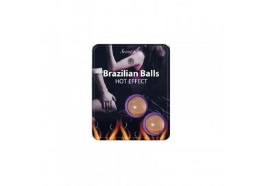 Palline Lubrificanti Effetto Caldo Brazilian Balls Hot Effect - Secret play