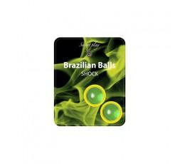 Palline Lubrificanti Effetto Afrodisiaco Brazilian Balls Shock - Secret play