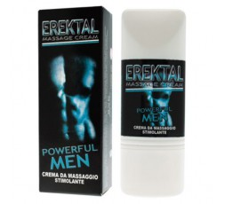 Crema Da Massaggio Stimolante Erektal Massage Cream Powerful Men 30 ml - IntimateLine