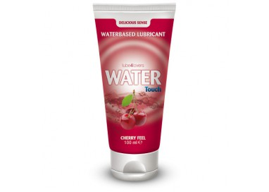 Lubrificante A Base Acquosa Aromatizzato Ciliegia Water Touch Cherry Feel 100 Ml - Lube4lovers