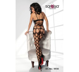 Bodystocking Nero Forato - Saresia