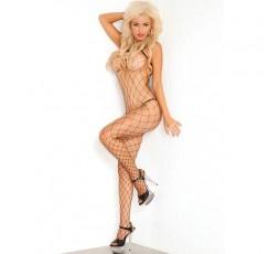 Sexy Shop Online I Trasgressivi Bodystocking Black Network Fierce Fence Net Bodystocking