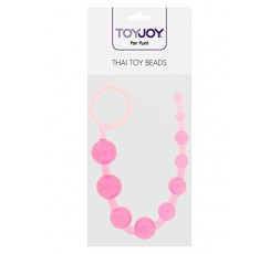 sexy shop online i trasgressivi Palline Anali Decrescenti Rosa A Catena Thai Toy Beads - Toy Joy