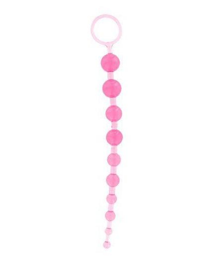 sexy shop online i trasgressivi Palline Anali Decrescenti Rosa A Catena Thai Toy Beads - Toy Joy