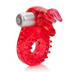 sexy shop online i trasgressivi Anello Fallico Vibrante - Couples Raging Bull Red - California Exotic Novelties