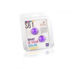 sexy shop online i trasgressivi Palline Vaginali - Silicon Balls Beads SB1 Purple - Maia
