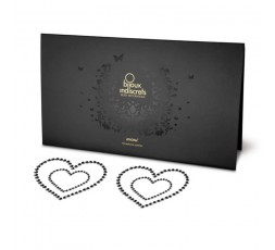 Sexy Shop Online I Trasgressivi - Accessori Vari - Perline Nere Decorazione Seno Body Decoration - Bijoux Indiscrets