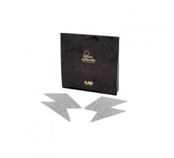 Copricapezzoli Fulmine Argento - Bijoux Indiscrets