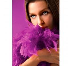 Sexy Shop Online I Trasgressivi - Accessori Vari - Boa Con Piume Viola Seductive Feather Boa - Ouch