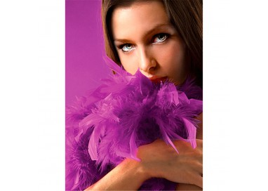 Accessori Vari - Boa Con Piume Viola Seductive Feather Boa - Ouch