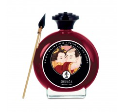 Body Painting Commestibile Afrodisiaco Aroma Champagne e Fragola 100 ml - Shunga