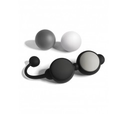 Set Palline Vaginali Intercambiabili Silicone Beyond Aroused Kegel Ball Set  - Fifty Shades Of Grey
