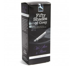 Sexy Shop Online I Trasgressivi - Stimolatore Clitoride - We Aim To Please Vibrating Bullet - Fifty Shades Of Grey