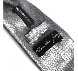 Sexy Shop Online I Trasgressivi - Abbigliamento Sexy Uomo - Cravatta Raso Christian Grey Tie - Fifty Shades Of Grey