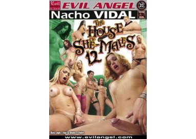 Dvd Trans - The House Of Shemales 12 Nacho Vidal - Evil Angel Films
