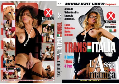 Dvd Trans - L'Asso Nella Manica Trans Italia - Moonlight Video