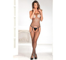 Sexy Shop Online I Trasgressivi - Bodystocking - Suspender Bodystocking in Rete Nera - Renè Rofè