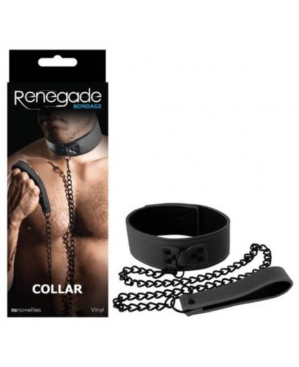 Sexy Shop Online I Trasgressivi - Costrittivo - Renegade Bondage Collar Black - NS Novelties