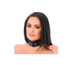 Sexy Shop Online I Trasgressivi - Costrittivo - Collare In Pelle Nero - Rimba