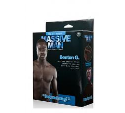 Sexy Shop Online I Trasgressivi - Bambolo Gonfiabile - Massive Man Benton G - NMC