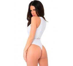 Body Bianco Traforato Womanizer Seamless Bodysuit - Pink Lipstick