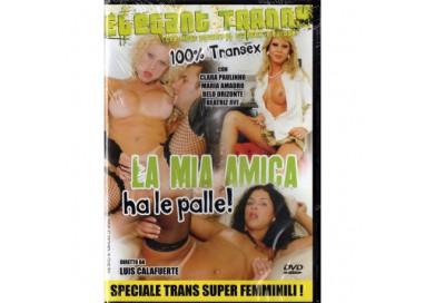 Dvd Trans - La Mia Amica Ha Le Palle - Luis Calafuerte
